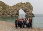 FG-elever på felttur til England