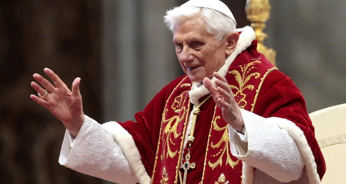Adiós, Benedicto XVI