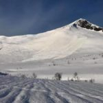 Kirketaket Avalanche 15 Jan 2019. Photo: Liv Kjølen Eriksen