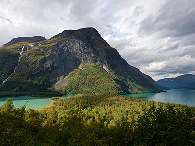 Ramnfjellet and Lake Lovatnet