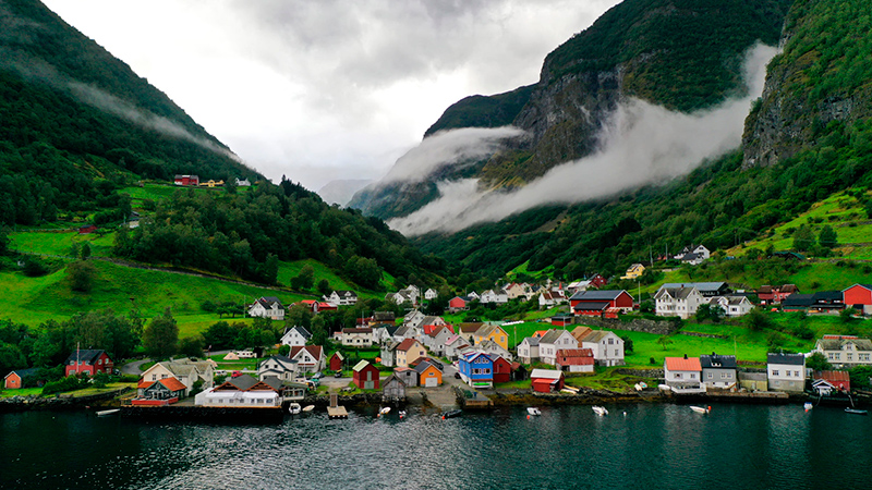 Undredal in Sogn, Norway