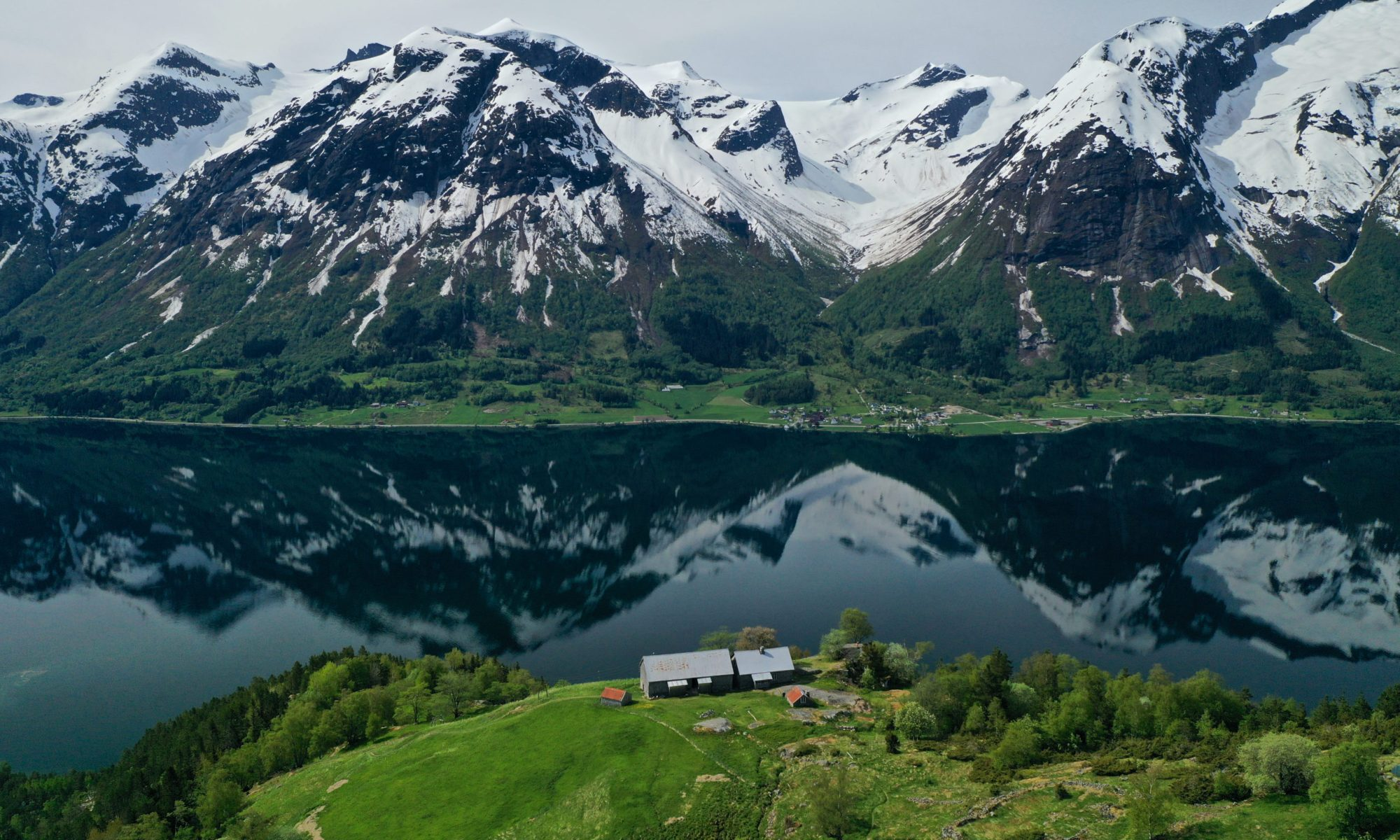 FJORDS NORWAY - Hike to Segestad Mountain Farm at Hjelle in Oppstryn