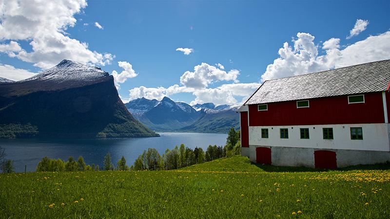 FJORDS NORWAY - Klungnes in Romsdal