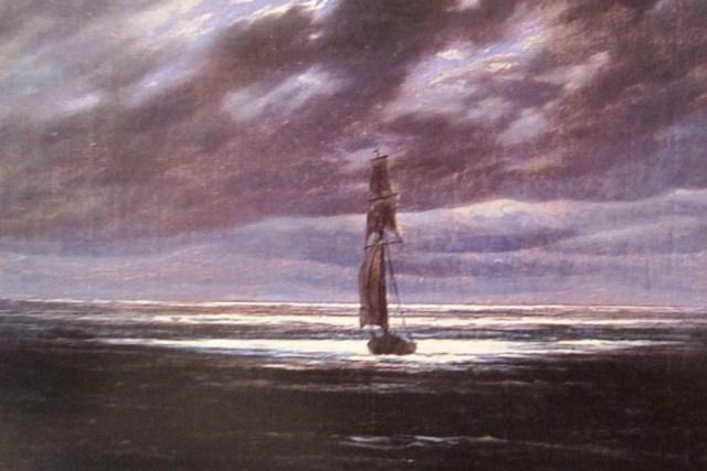 4: Seestück bei Mondschein
