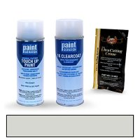 2010 Toyota FJ Cruiser Silver (Bumper) 11CR07 Touch Up Paint Spray Can Kit by PaintScratch - Original Factory OEM Automotive Paint - Color Match Guaranteed
