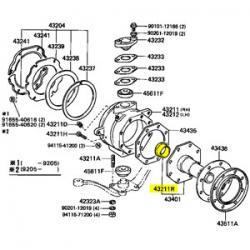 Bushing, Knuckle Spindle, 90-92 FJ80, HDJ80, HZJ80