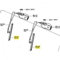 Blade, Windshield Wiper, 58-67 FJ40, FJ45