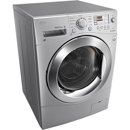 LG WM3488HS 24 Compact Ventless Washer Dryer Combo Titanium