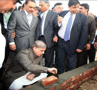 AAshyana Housing Foundatio Stone laying on March 12, 2011