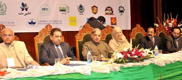 Shahbaz Sharif in Inauguration Ceremony of Pakistan Urban Forum 2011 at Al-Hamra Lahore (Mar 1, 2011)