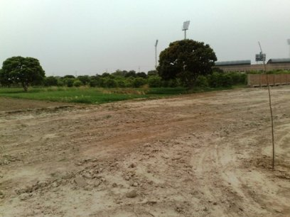 Multan Cricket Stadium view from Nayab City block c -2