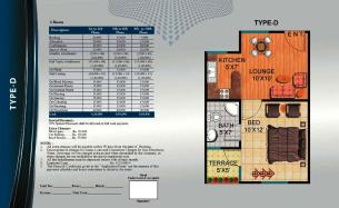 Al Wasay Towers Karachi (Layout Plan Flat Type-D & Payment Plan)