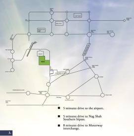 Cnatt Cottages Multan (Location Plan or Map)