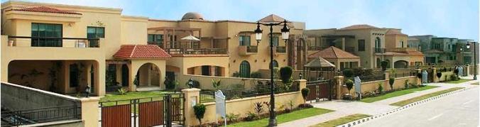 Lake City Villas Lahore - Model villas