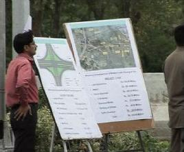 Official briefing on Bhatta chowk developing work