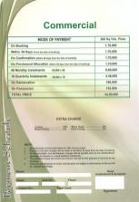 Saima Green Valley Karachi (Payment Schedule commercial plots 200 yards)