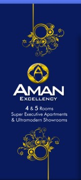 Aman Excellency Karachi - 4&5 Rooms Apartments