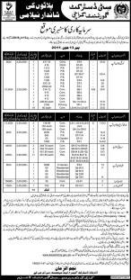 CDGK (City District Govt Karachi) Plots Auctions