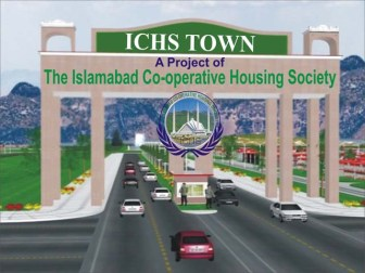ICHS Town project of Islamabad Co-operativr Housing Society - Main Enterence