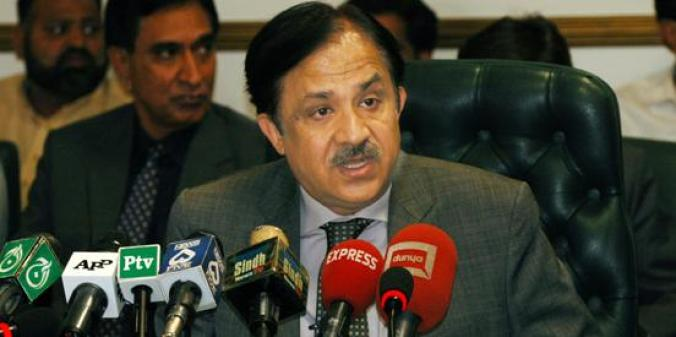 CDA Chairman announcing Parl Enclave Housing Project Islamabad