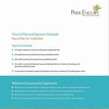 Park Enclave Islamabad Brochure 6