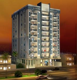 Al Baraka Tower Karachi Master Plan - Layout View