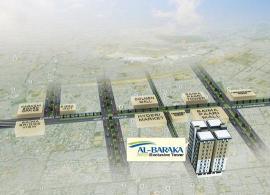 Location map Al Baraka Tower Karachi