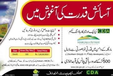 Margalla Retreat Housing Islamabad Sector E-11