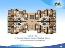 PHA Executive Apartments Lahore - Layout Plan