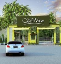 Canal Cantt View housing scheme - Main gate