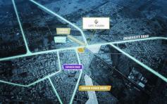 City Towers Karachi - Location Map