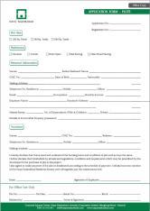 Naya Nazimabad Karachi - Application Form for Plots (Office Copy)