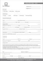 Naya Nazimabad Karachi - Application Form for Plots (Original Copy)