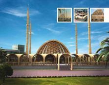 Naya Nazimabad Karachi - Master Plan Mosque Conceptual View