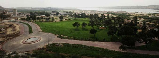 Naya Nazimabad - a bird view