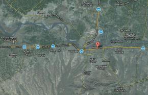 Noshera City Satellite Map