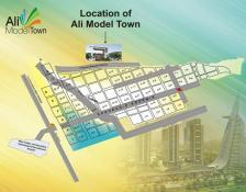 Ali Model Town Islamabad - Location Map