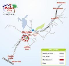 Model City Haripur Location Plan
