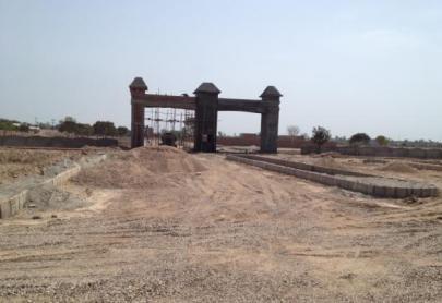 Nayab Grace City Main Gate dated 7-4-2012