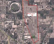 Satellite map Nayab Grace City Multan