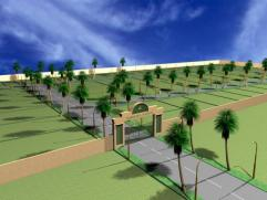 Rasheed Avenue Multan - conceptual view