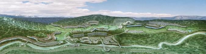 Bahria Golf City Islamabad on Murree Express Highway