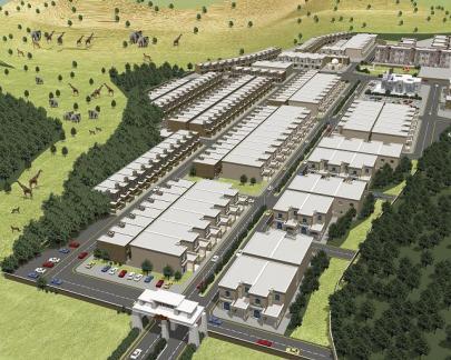 Safari View Residencia Rawalpindi / Islamabad Master Plan