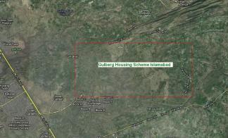 Gulberg Islamabad Satellite Map 2