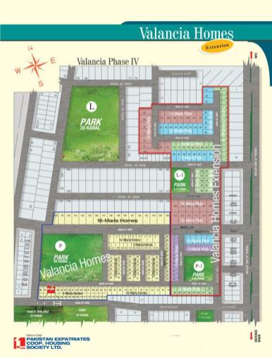 Valancia Homes Phase IV - society master plan