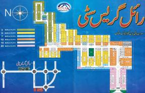Royal Grace City Multan - Master or Layout Plan