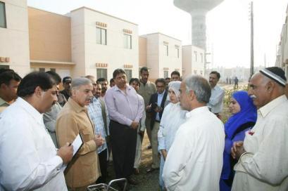 Shahbaz Sharif Visits Ashiana Housing Project Lahore 4