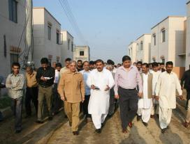 Shahbaz Sharif Visits Ashiana Housing Project Lahore (File Photo)