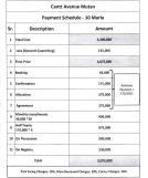 Cantt Avenue Multan - Payment Plan, 10 Marla Residential Plot