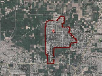 Garden Town Gujranwala - Satellite Map